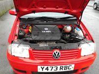 Vw polo 2001 good condition 1.4 petrol