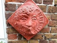 Terracotta wall ornament