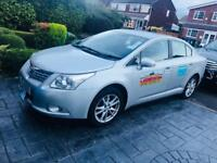 Oldham TAXI FOR SALE Toyota Avensis 2011 £2695ono