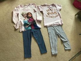Frozen set and Bat Girl set Age 6