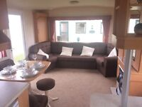 BARGAIN STATIC CARAVAN FOR SALE AT WHITLEY BAY HOLIDAY PARK ON NORTH EAST COAST NR SANDY BAY, AMBLE