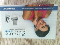 SAMSON AIRLINE WIRELESS EARSET SYSTEM
