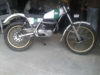Ossa 250 trails bike