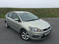 VERY LOW MILEAGE 2009 FORD FOCUS 1.6 ZETEC WITH FULL SERVICE HISTORY AND NEW 12 MONTHS MOT!