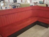 Joblot Restaurant pub club fixed seating bench sofa furniture
