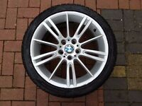 "Genuine BMW E90 MV3 18"" 8.5j REAR ALLOY - NO CRACKS OR WELDS"