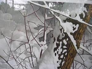 "Forest Guardian by Jack Reid ""Winter Sentry"" (160-375) Signed Stratford Kitchener Area image 3"