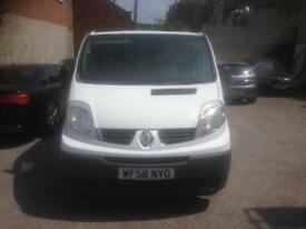 RENAULT TRAFIC SL27+DCI 115 2009 58 2 X SIDE LOADING DOORS