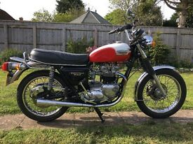 1981 Triumph Bonneville T140E