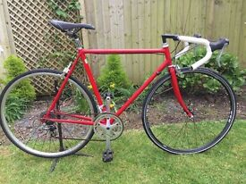 Italian Columbus framed road bike-very light