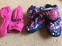 Waterproof mittens and boots - Jojo