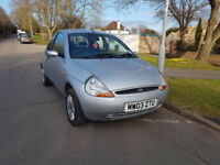 Ford KA 1299cc only 32700 miles One lady owner 2003
