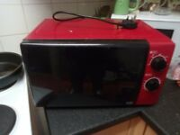 Red Microwave Oven For Sale.
