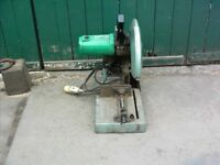 hitachi metal chop saw