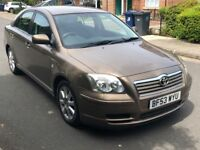 Toyota Avensis 1.8 Automatic hpi clear low miles (not vectra insignia passat accord honda nissan)