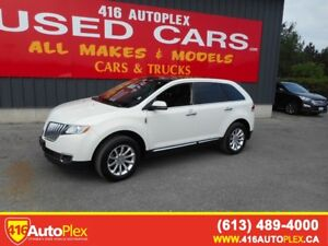 2013 Lincoln MKX AWD Leather Nav Panoramic Roof