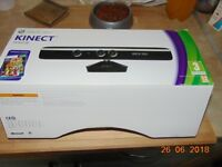 xbox 360 kinect sensor looks like new all cables and power supply no game