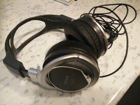 sony stereo over ear headphones mdr-xd200