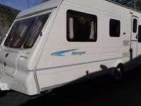 Bailey Ranger Five Berth Touring Caravan