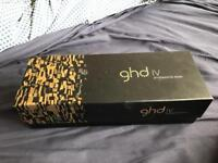 REAL GHD IV HAIR STRAIGHTENERS - WITH AUTHENTICITY TAG ATTACHED.