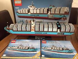 Lego maersk line ship (rare)