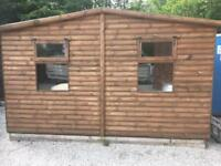 10x10 cabine. Shed