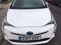 Brand NEW SHAPE Toyota Prius PCO car for hire/rent - £235p/w - Uber Ready 17 Plate Special Offer