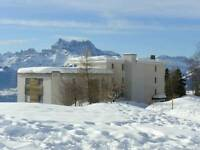 Leysin Switzerland Short-ski in January