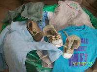 Bundle of Baby boys' clothes 0-6mths.