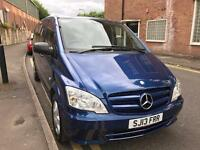 Mercedes-Benz Vito Minibus (2003 - 2015) MK2 2.1 113CDI BlueEFFICIENCY Traveliner Compact Bus 5dr