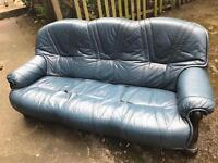 FREE 3 Seater Sofa Leather FREE