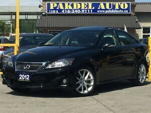 2012 Lexus IS 250 AWD*****SOLD****