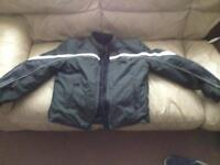 Triumph motorcycle jacket with body armour (small)