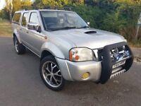 Nissan Navara 2003 long MOT excelent condition 4x4