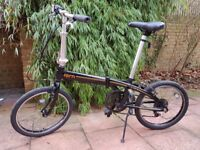 TERN LINK C7 Folding bike like Dahon or Brompton
