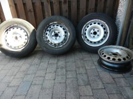 VW Caddy Van Wheels