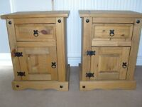 2 Rio Bedside chests (sold together)