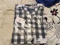 ASOS pull&abear check shirt medium NEW