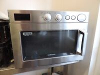 Commercial stainless steel microwave 1850 watts