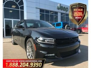 2017 Dodge Charger Rallye| Leather| Sunroof| Low KM| AWD