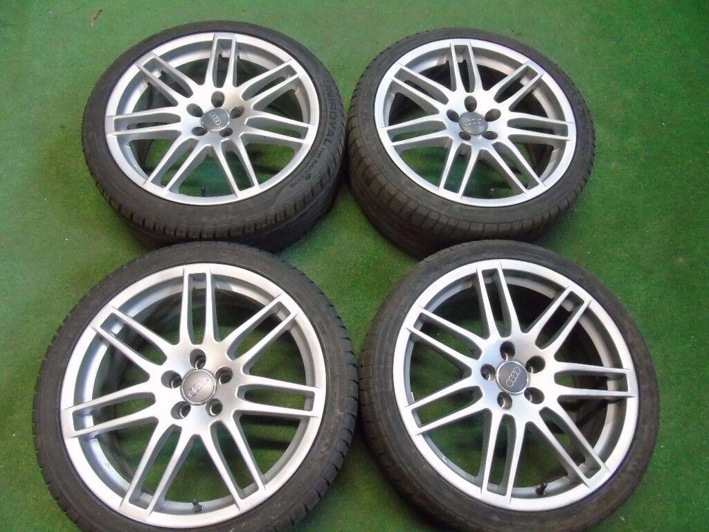 """AUDI RS4 STYLE AUDI TT MK1, A3, VW GOLF MK4, BORA, BEETLE 18"""" ALLOY WHEELS"""