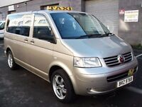 *TAXI BUS* HACKNEY SPEC! VW TRANSPORTER 8 SEAT! PSV'D READY FOR WORK LIKE SKODA AVENSIS PASSAT AUDI