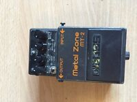 Boss MT-2 Metalzone Distortion Pedal - Collection Only