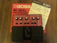 Boss RC20XL phrase looper.
