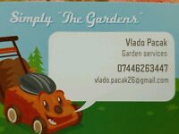 Garden services, maintinence, clearance, garden projects...