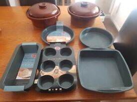 Kitchenware Casserole Dishes Cake Moulds Joblot Bakeware Clearance Houseware