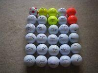 JOB LOT OF GOLF BALLS - VARIOUS BRANDS (SRIXON: TITLEIST; NIKE; CALLAWAY; WILSON STAFF; TAYLORMADE)