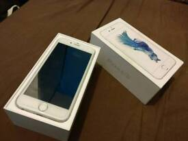 *Apple iPhone 6S. Vodafone lebara 16gb, Silver boxed charger fully working