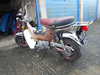 1975 HONDA CF-70 HONDA CHALY T&T 9234 MILES FROM NEW