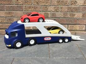 Used Little Tikes Large Car Carrier